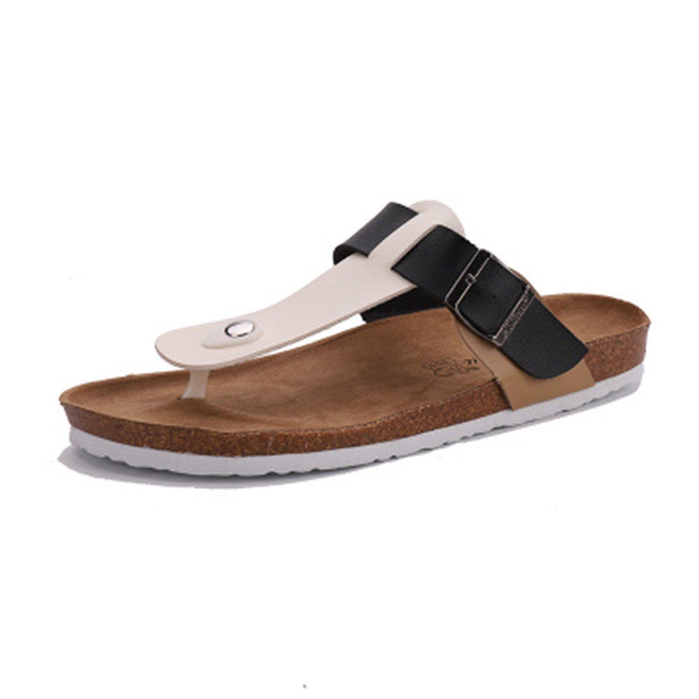 Amazon.com | Suppliesed 2018 Verano Hombre Suave corcho diapositivas Zapatillas Hombres amantes Casual Sandalias | Slippers