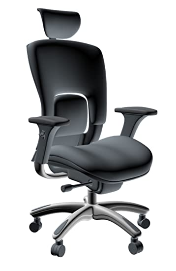 Amazon Com Gm Seating Ergolux Genuine Leather Executive Hi Swivel
