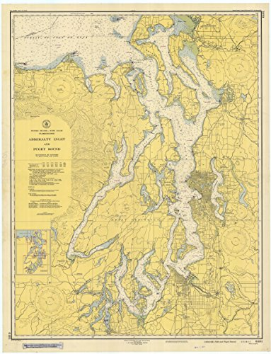 (Puget Sound & Admiralty Inlet Historical Map 1948 (18