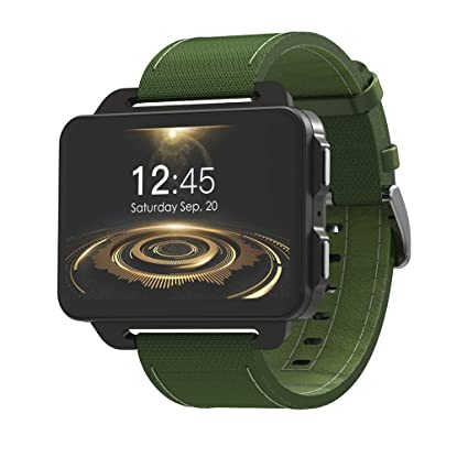 Amazon.com: Manzzy LEMFO LEM4 PRO 3G Smart Watch Phone, 2.2 ...