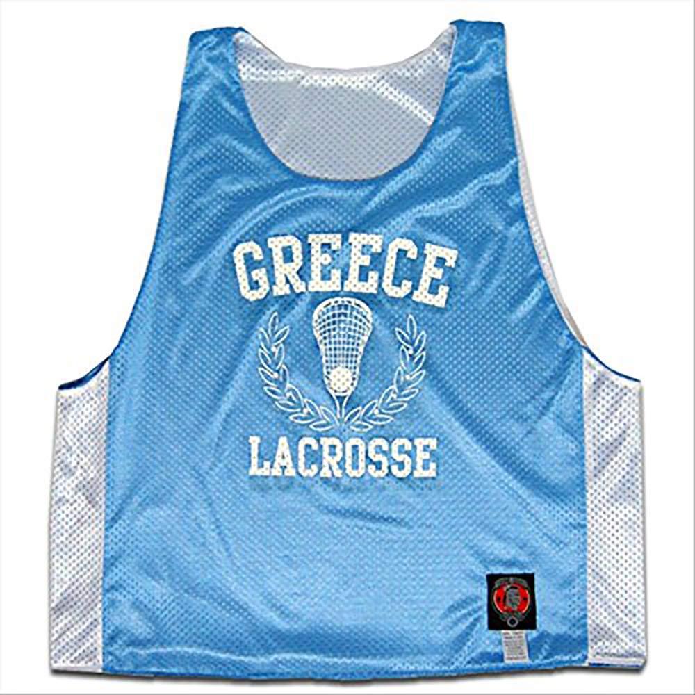 Tribe Head Lacrosse Greece Reversible Reversible Pinnie