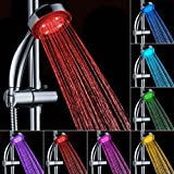 Led Shower Bathroom 7 Color LED Shower Head with Automatic Changing