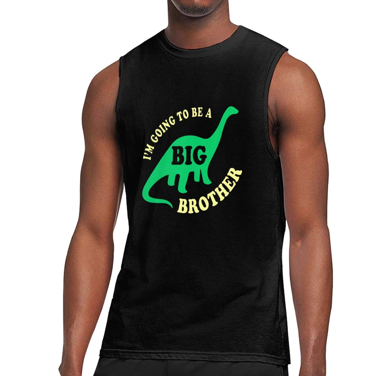 Seuriamin I M Going To Be A Big Brother S Classic Gym Sleeveless Muscle Short Sleeve T Shi