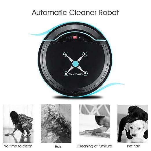 Jackeylove Aspiradora Robot, Aspirador automático de la aspiradora ...