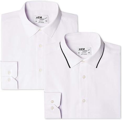 Hem /& Seam Camisa Estampada Slim Fit Hombre Pack de 2
