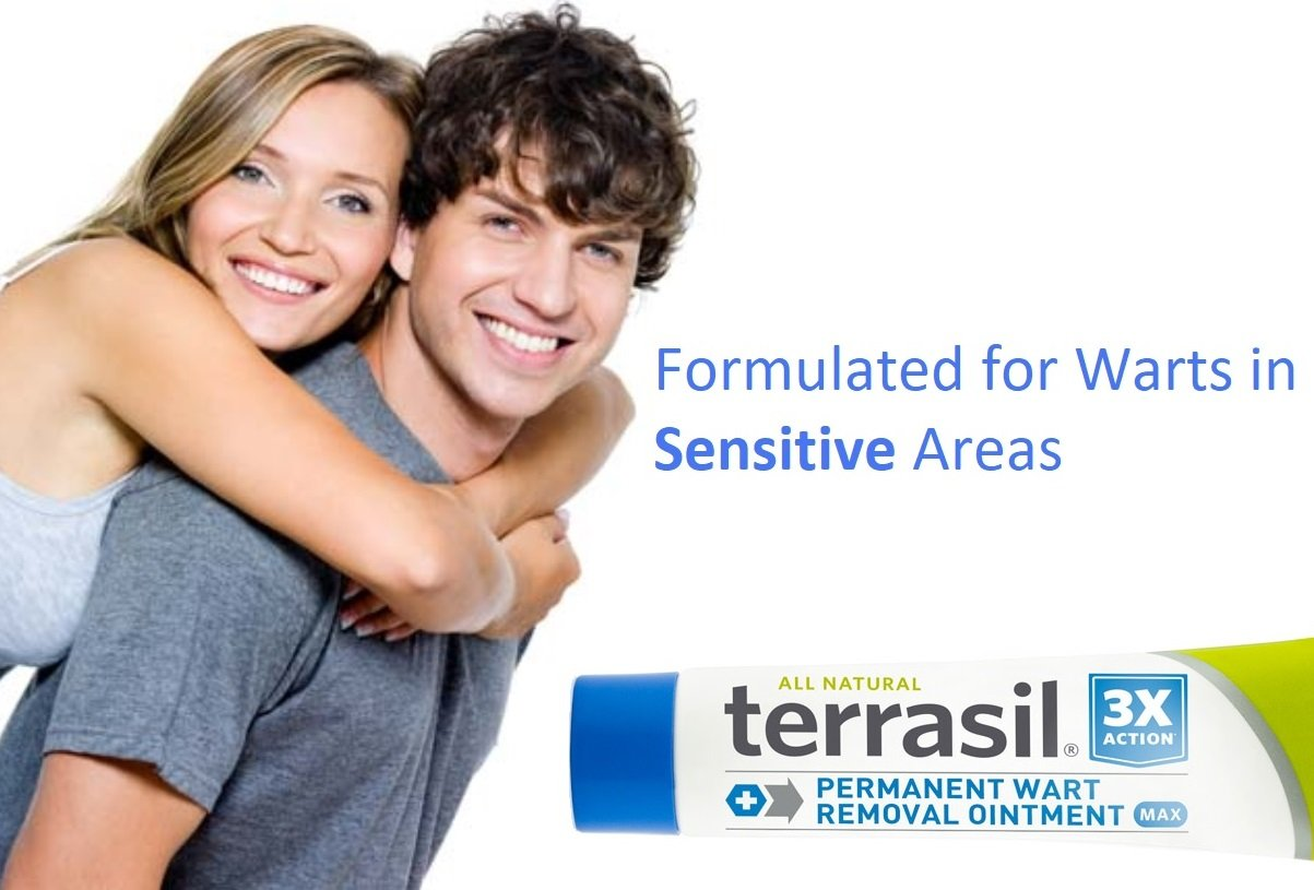 Permanent Wart Remover- for Genital & Facial Warts Maximum Strength Slow Safe Gentle Alternative for Sensitive Skin Dr Recommended Guaranteed All Natural Pain Free Salicylic Acid Free by Terrasil by Aidance Skincare & Topical Solutions (Image #2)