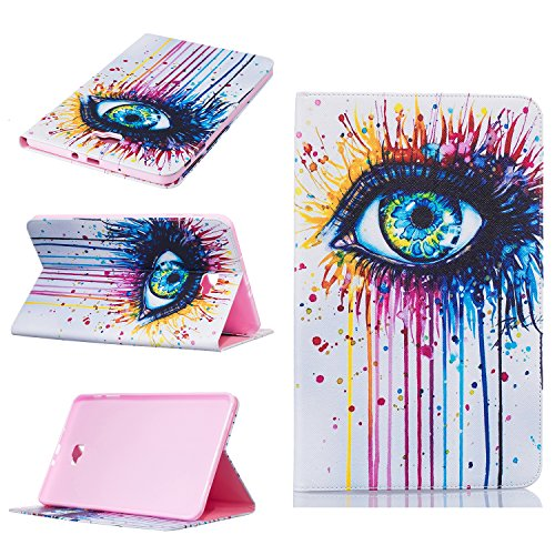Galaxy Tab A 10.1 Case, Beimu Ultra Lightweight Slim PU Leather with Credit Card &ID Card Slot Protective Case for Samsung Galaxy Tab A 10.1 Inch (SM-T580 / SM-T585)(No S Pen)Tablet 2016 Release