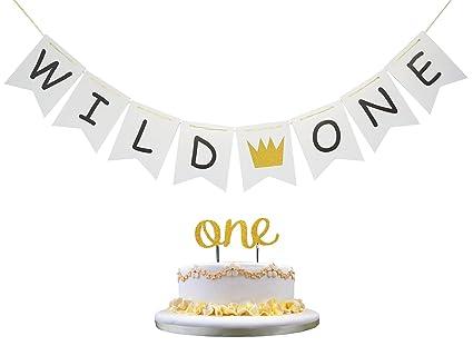 Amazon.com: Intoy Wild - Pancarta de una corona con doble ...