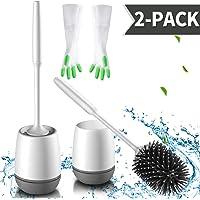 zhajiang Escobillas y soportes para inodoro (2 unidades)