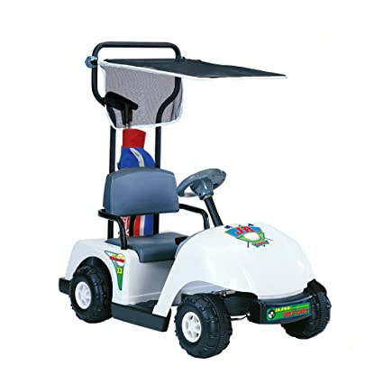 Amazon.com: Kid Motorz Junior 6V Pro Golf Cart Ride-On, White: Toys on power sprayer, power tools, power golf trolley, power golf book, power trailer,