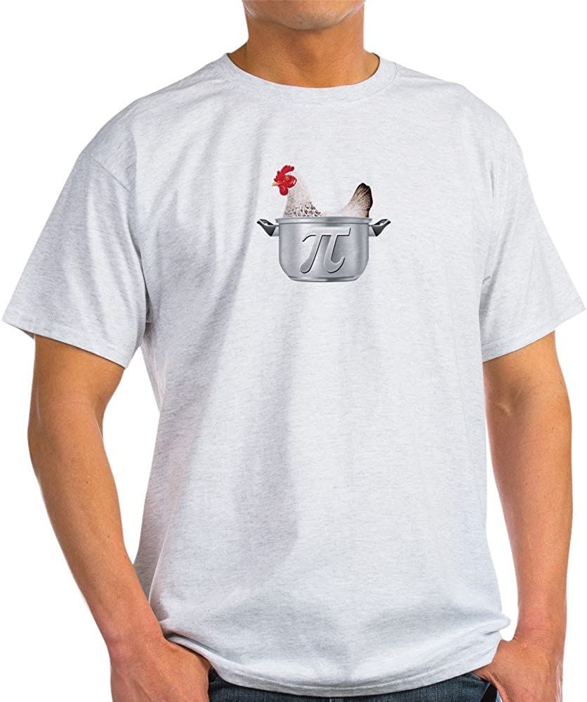CafePress Chicken Pot Pi 100% Cotton T-Shirt Ash Grey 61P5Dq612cL