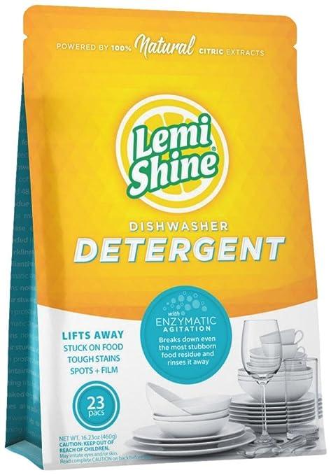 Amazon.com: lemi Shine lavaplatos detergente PACS, 23 Count ...