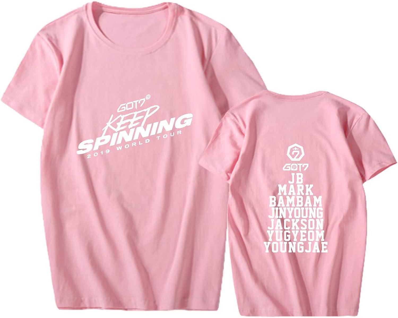 Enjoyyourlife Unisexe Kpop GOT7 T-Shirt /& Short Set Crop Top /& Short Bambam Jackson Mark Jinyoung Yugyeom Youngjae