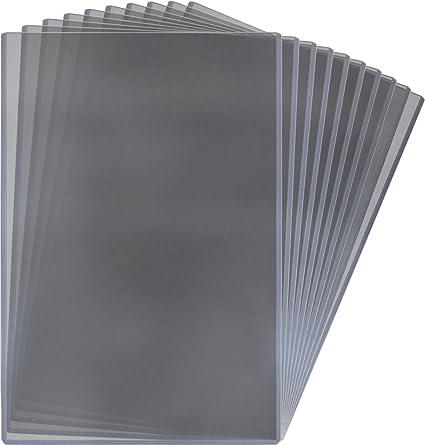 New 10 PK BCW 8 x 10 Hard Plastic Rigid Topload Photo Holders 8x10 toploaders