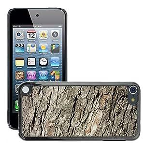 Print Motif Coque de protection Case Cover // M00154700 Corteza de Ridge corteza de árbol // Apple ipod Touch 5 5G 5th 6 6G 6th