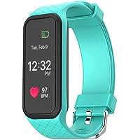 OPTA L38i Rubber Bluetooth Smart Fitness Band Heart Rate Sensor Monitors (Mint Green)