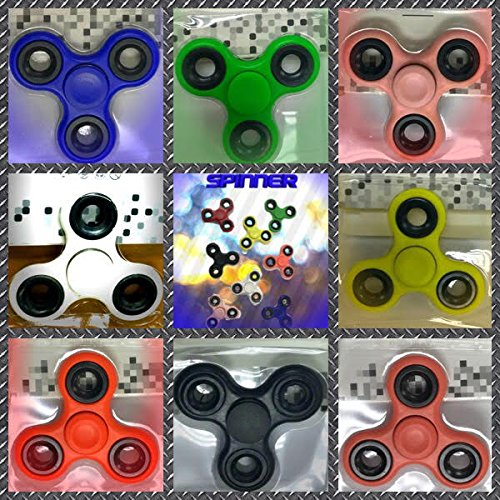 100 PACK OF SPINNERS Individually packed in box from USA by MZM