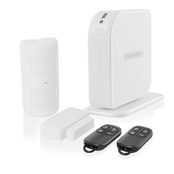 Eminent EM8605 Blanco sistema de alarma de seguridad: Amazon ...