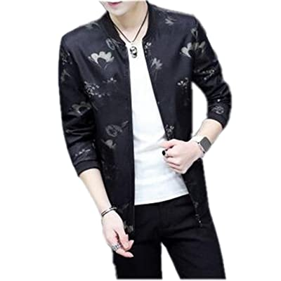 Bstge Men's Various Styles Printing Jackets X-Small Style 2
