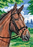 """Best Royal-langnickel-pencils - Mini Color Pencil By Number Kit 5""""X7""""-Horse Review"""