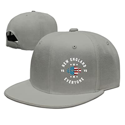 New England Vs Everyone Vintage Plain Flat Baseball Hats 80s Snapback Hats Summer Hats For Man