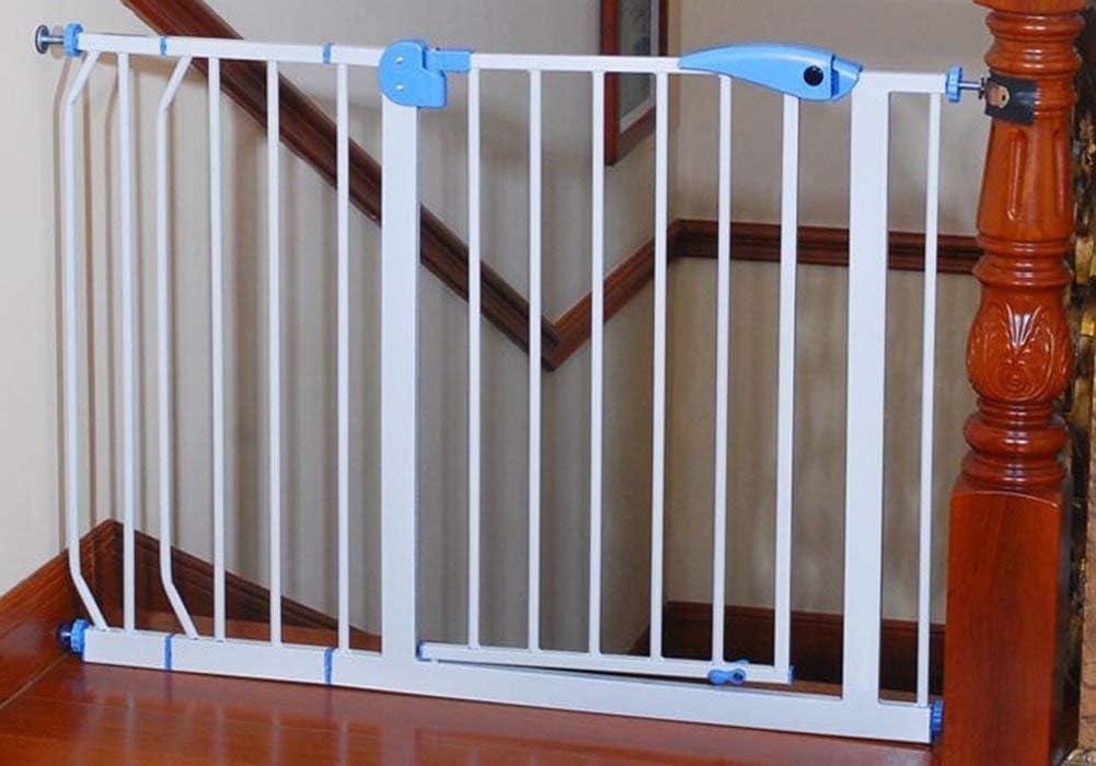 Puerta de seguridad para niños Barrera de la escalera para bebés Cerca de la cocina Barandas para bebés Puerta de aislamiento para mascotas Parte superior de la puerta para bebés de las