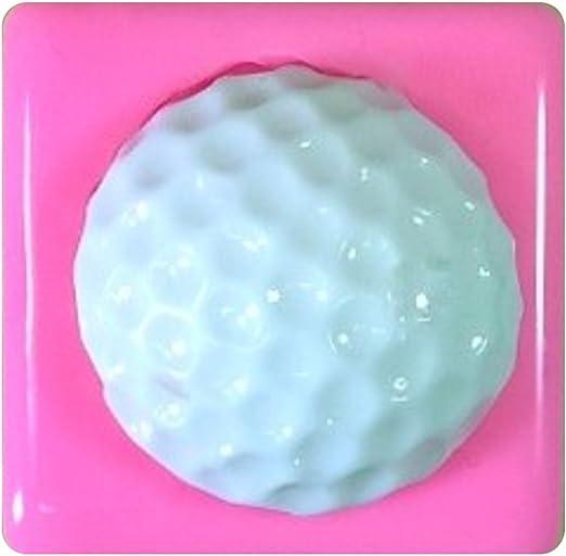 Pelota de golf 25mm Molde de silicona para la torta de Decoración ...