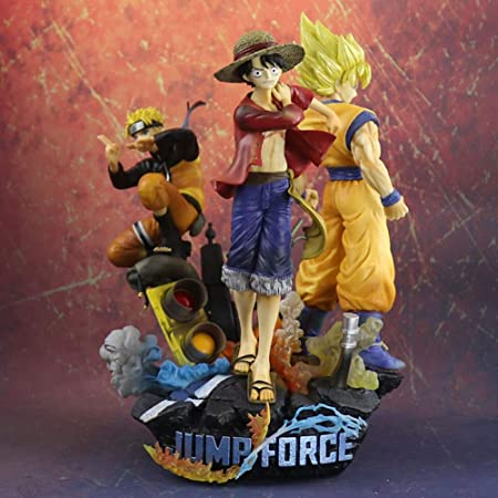 ZHI PENG Naruto One Piece Road Flying Seven Dragon Ball Goku 3 ...