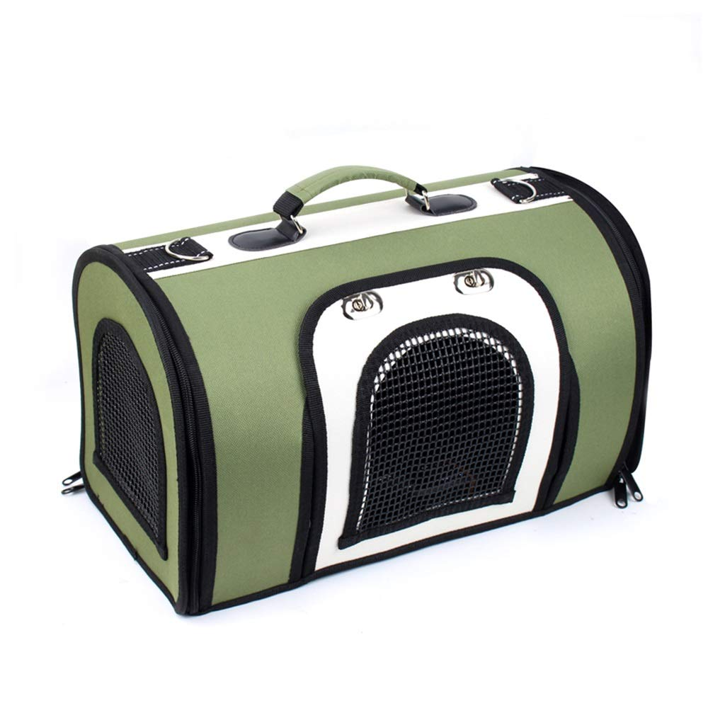 A S A S Teng Peng Pet travel bag, suitable for cats and dogs pet travel bags, storage bags, aviation, train and car travel carrying bags, mesh comfortable and breathable handbags Pet supplies pet bag