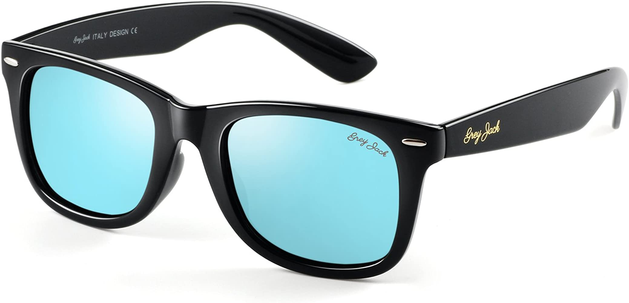 Classic Polarized Horn Rimmed Sunglasses