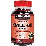 Kirkland Signature Expect Molre Krill Oil 500 mg, 160 Softgels