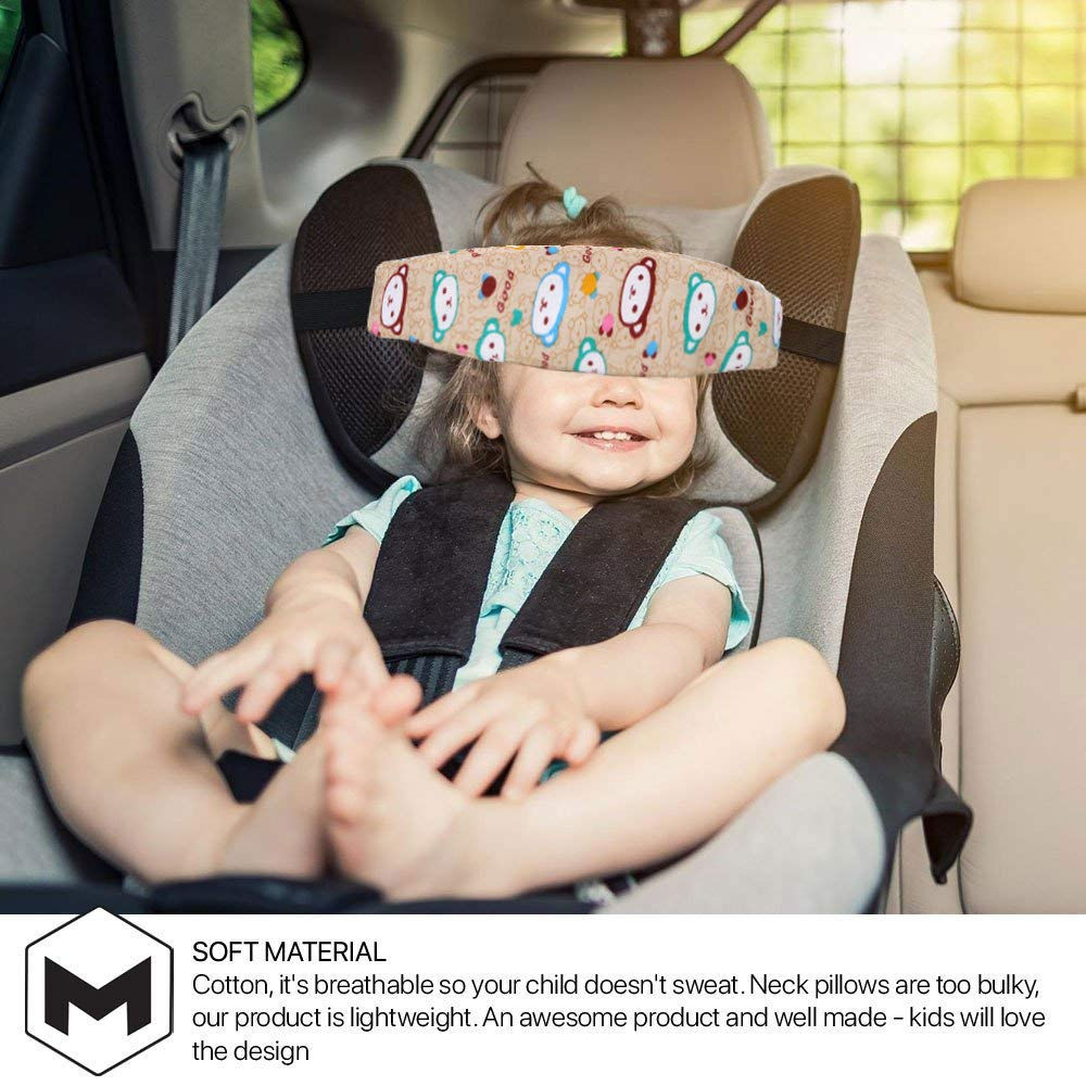 Baby Car Seat Head Support Band Toddler Head Holder Support for Car Seat Sleep Nap Aid When Infants and Baby Sleep//Nap