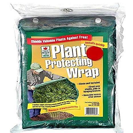 Diameter 6 feet Easy Gardener Plant Protection Medium Reusable Frost Blanket Wrap With Cinch Cord