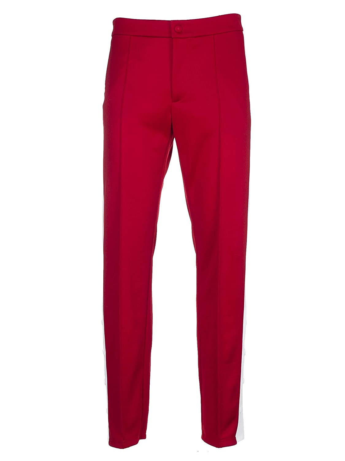 Brand Size 44 VALENTINO Men's PV0RB5414S101N Red Polyester Pants
