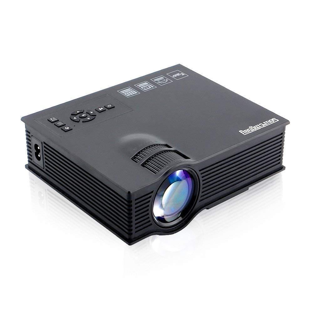 Proyector portátil LED UC40, 1200 lúmenes Mini Home Theater ...