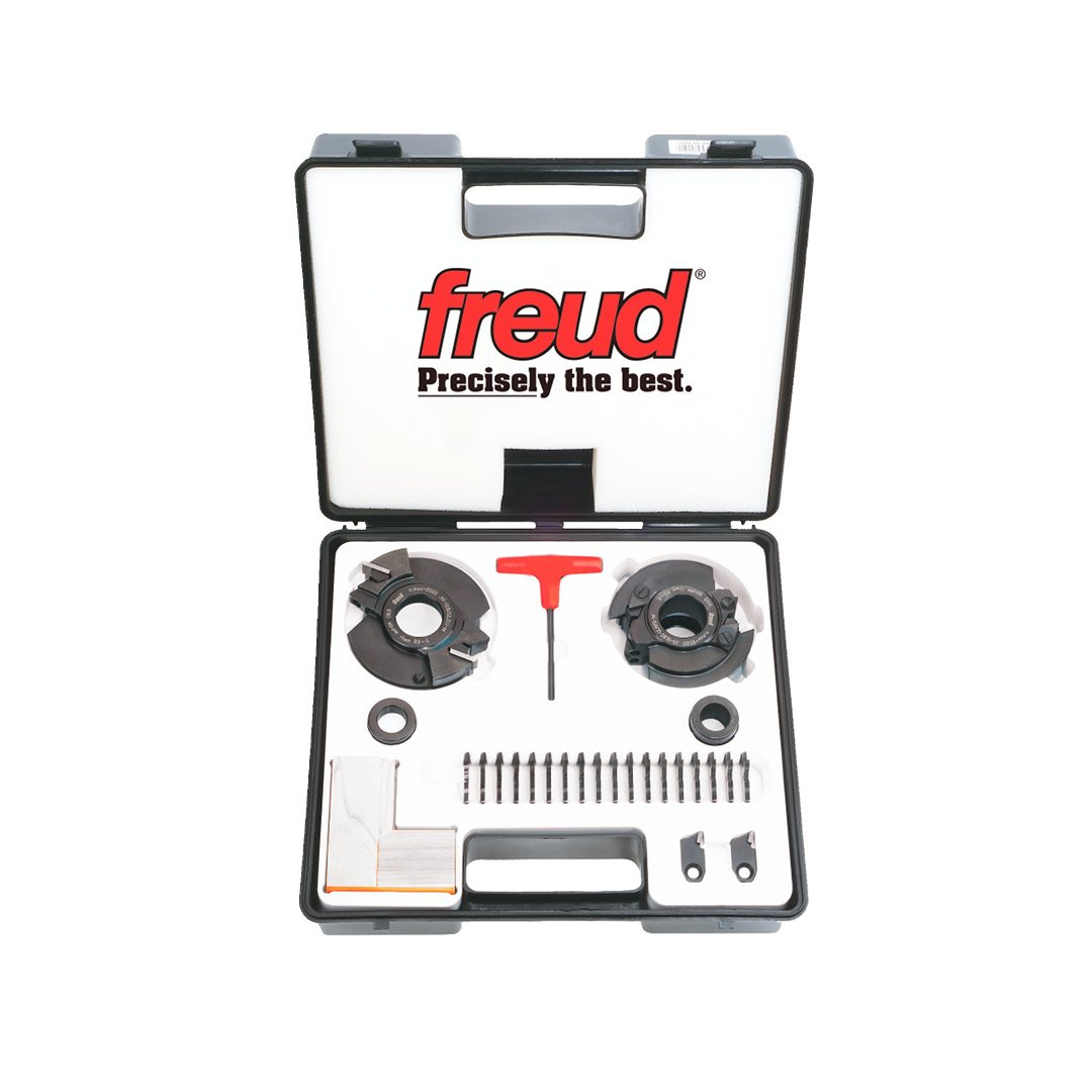 Freud Insert Knife Rail And Stile Shaper Cutter Set with 1-1/4'' Bore (RS2000)