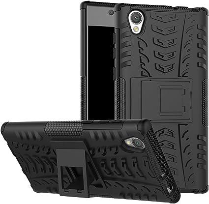 Sony Xperia L1 Funda, FoneExpert® Heavy Duty silicona híbrida con ...