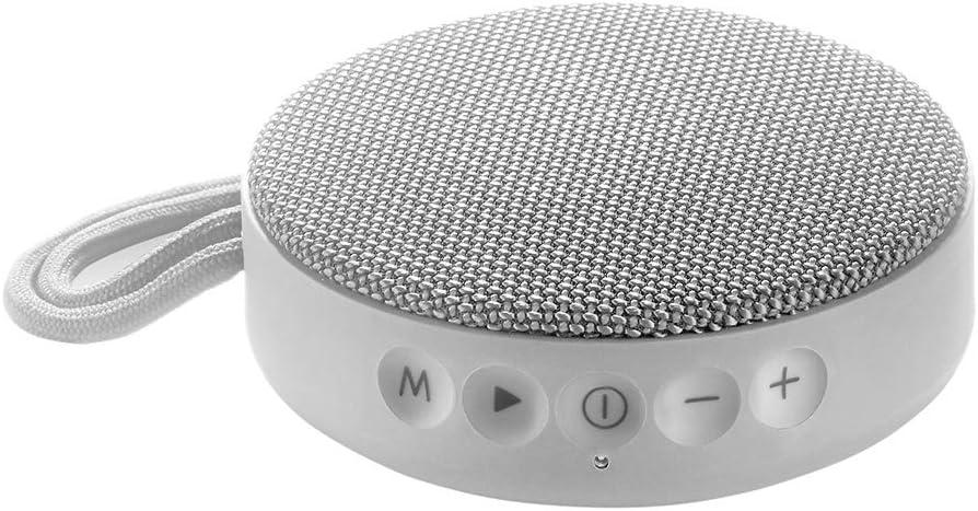Vieta Pro Round Up - Altavoz inalámbrico (Bluetooth, radio FM, reproductor USB, entrada micro SD, auxiliar, micrófono integrado) gris