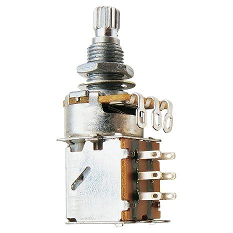 Potenciómetro de volumen push - pull de 500 k ohm