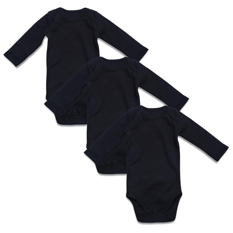 【2018最新作】 ROMPERINBOX SHIRT ユニセックスベビー B01NBDO4IU Months|Black Black L 3 3 SHIRT Pack 0 - 3 Months 0 - 3 Months|Black L 3 Pack, エニット大門:4889f29a --- movellplanejado.com.br