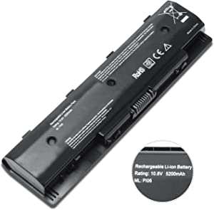 New PI06 Replacement Laptop Battery for HP Pavilion Envy TouchSmart 14 15 17 HP Pavilion 14-E000 15-E000 Touchsmart 17-J000 fits 710417-001 710416-001 709988-421 709988-541