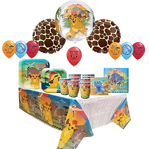 The Lion Guard Party Tableware and Balloon Set
