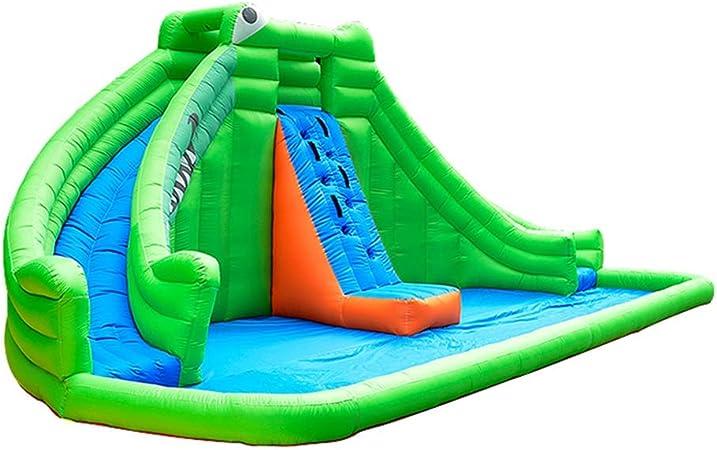 Castillos Inflables Soplador de obstáculos Diapositivas PVC juegos inflables hinchables CASA Navidad inflable regalo casa de la despedida Castillo Trampolín Juguetes de colchón de aire al aire libre: Amazon.es: Hogar