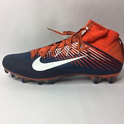 Nike Vapor Untouchable 2 Football Cleats (Size 12) Orange Blue White 835646  810 (