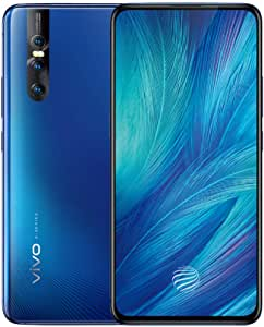 vivo X27 8GB+128GB 6.39 Inch FHD+ Super AMOLED Elevating Front Camera Wide-angle 48MP 3 Camera Screen Fingerprint 4000mAh Dual Card Smart Phone (Blue)