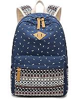Damen Blume Daypacks Backpack Schultasche Schulrucksäcke - Mädchen Student Outdoor Reisen Rucksack