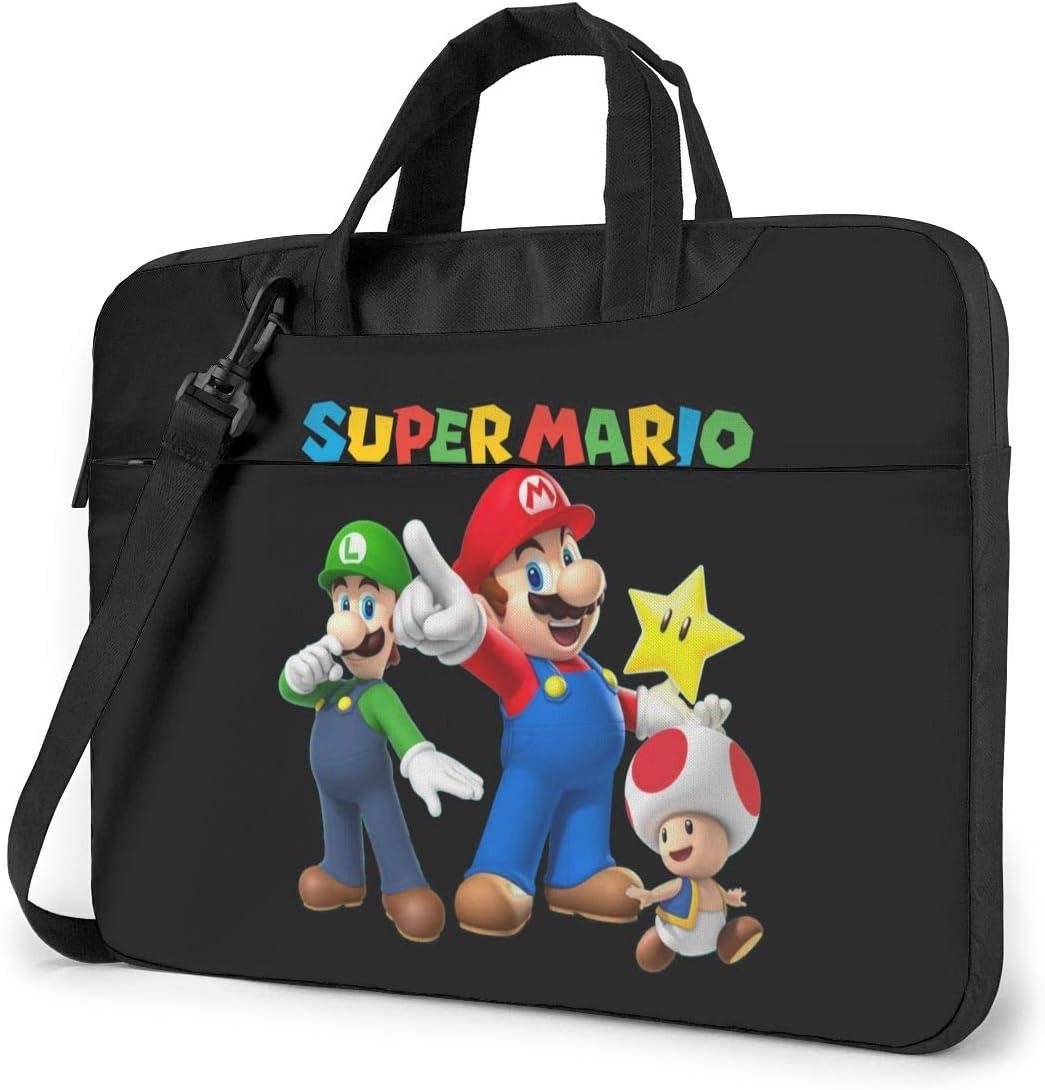 NDSXTLCA Super Mario 17.3-Inch Laptop Shoulder Sleeve Bag Case with Handle for 17 17.3
