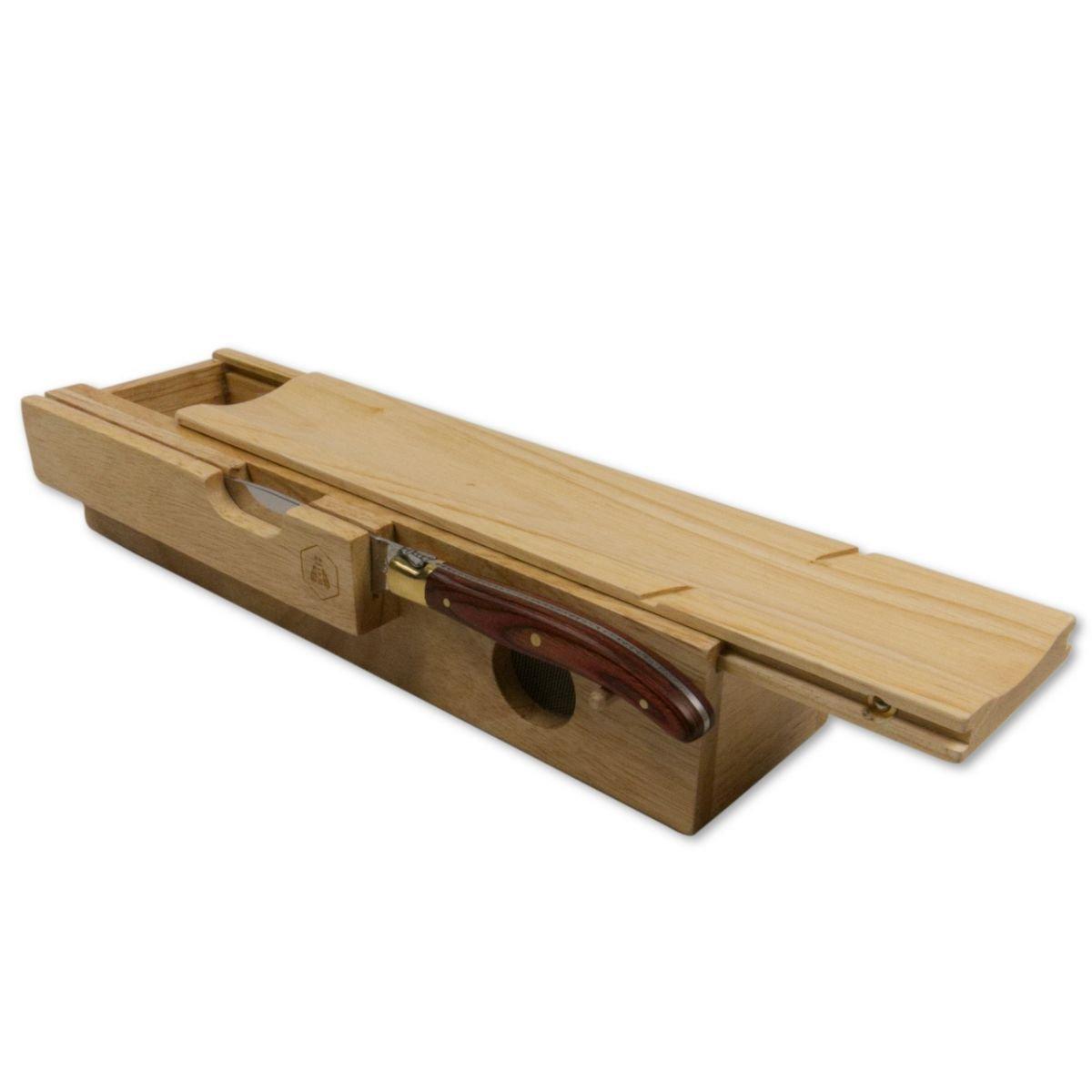 LAGUIOLE - Salami-Schneideblock mit Messer Messer Messer B000MR2C7K Steakmesser 00826c