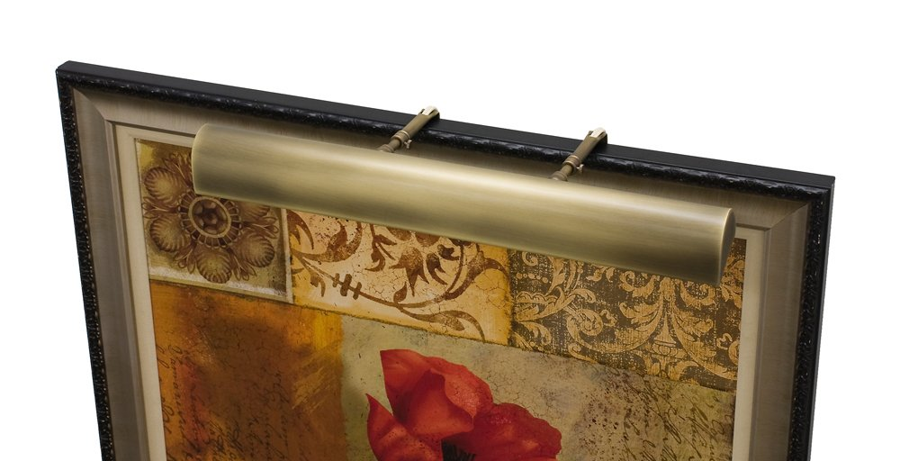 House of Troy T30-71 Traditional Picture Light, 30'', Antique Brass