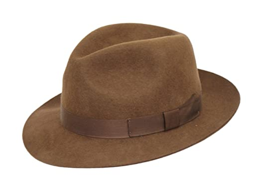 Cotswold Country Hats Trilby Hat Mens 100% Wool. Perfect for Races. Luxury  Lined. Comfortable Inner Sweatband. Unisex. Black ace6754193b